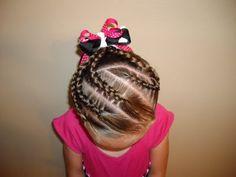 Peinados fáciles con trenzas para niñas | Peinados y Cortes