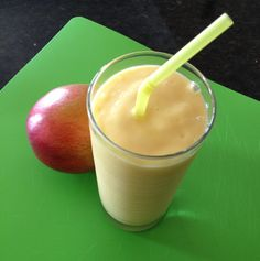 Refreshing Mango Lime Smoothie - The perfect blend of sweet and citrus.