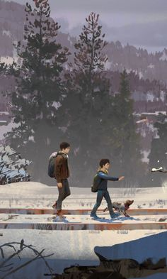 Boys, walk, Life is Strange 2, game, 2019 wallpaper