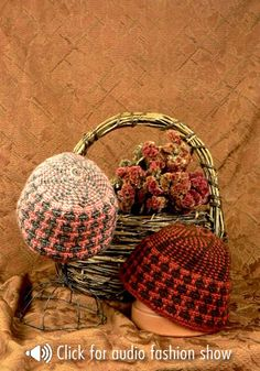 Sydney His & Her Hats free crochet pattern