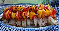 Gourmet Girl Cooks: Grilled Chicken Kabobs & Happy Autumn!
