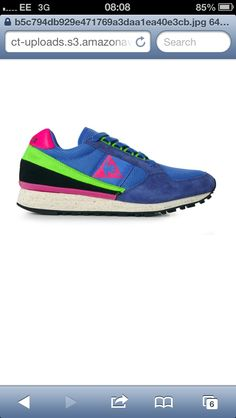 Le Coq Sportif trainers from www.crookedtongues.com