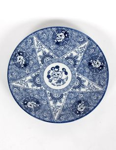 Tadanori Yokoo Skull Plate