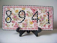 GARDEN & PORCH MOSAIC IDEAS! – Ooooby mosaic idea, porch mosaic, garden