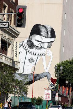 Street Art #arteurbana #urbanart #graffiti #streetart #wall #mural #artederua
