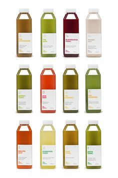 Packaging of the World: Creative Package Design Archive and Gallery: The Juice Cleanse