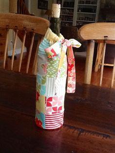 Moda Bake Shop: 30-Minute Gift: Patchwork Wine Bag