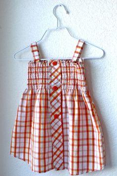 Little Girls' Shirt Dress