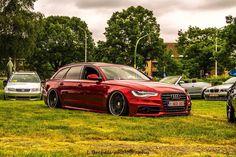 Red Audi Avant