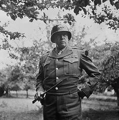 General George Patton Interrogates  a SS General, 1944 - http://www.warhistoryonline.com/war-articles/general-george-patton-interrogates-a-ss-general-1944.html