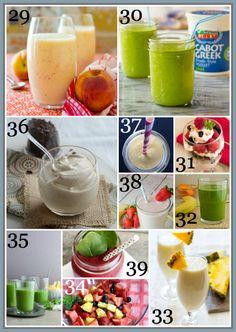 80  Healthy Breakfast Recipe ~ Smoothies, Fruit and Parfaits #breakfast #recipe #easy #friday