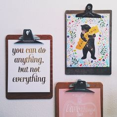 clipboards for hanging art