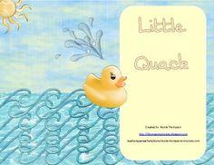 Little Quack - Kindergarten - Scott Foresman - Reading StreetPacket Contents:1.Read, Write, Stamp, Build High Frequency Words2.Eye Spy Rain...