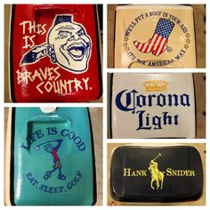 Hand Painted Cooler 28 quart by thegirlsinpearls on Etsy