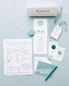 Wedding Newsletter - Beach Wedding