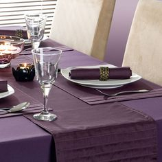 Purple, Black, and Gold