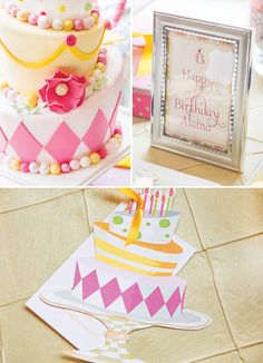 matching the cake to the invites