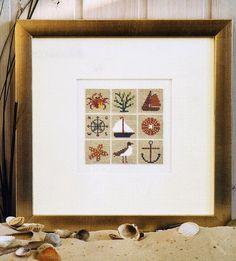 galleryru, guest bathroom, stitch pattern, cross stitchstitch, stitch lover, sea, vikikitti, фото, crossstitch ii
