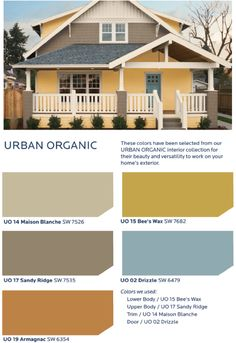 Celebrate the revival of urban living with a fun, eclectic collection of colors that feature a hint of retro hipness in the HGTV HOME™ by Sherwin-Williams Urban Organic Collection.