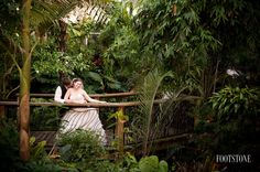 Our Butterfly Rainforest is a lovely location for photos. Photo by Footstone Photography