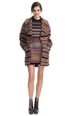 I love literally everything about this missoni number from their pre fall collection!