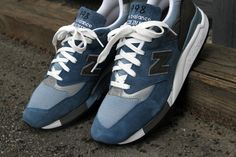New Balance Spring 2012 M998 Made in USA 'Blue Denim'