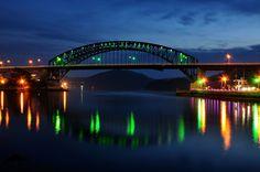 Grand Tongyeong Bridge by faris-budak-besar on Flickr.