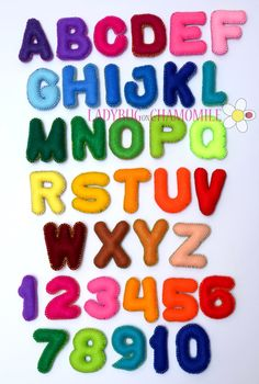 Hey, I found this really awesome Etsy listing at https://www.etsy.com/listing/120528112/felt-magnet-alphabet-and-numbers-felt