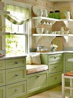 """Ooooh pretty"""" Country Kitchen"""
