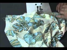 Como Hacer Una Blusa Escote Caido  En 15 Minutos