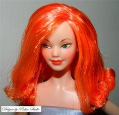 Designs By Robin - Peggy Sue~Ooak Diva/Midge Model Muse Barbie~NUDE~