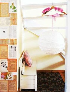 REGOLIT - you don't have to plug them in to get the dreamy effect of a rice paper lantern.  Hang the shades from ribbons in your wedding colors for an easy DIY.