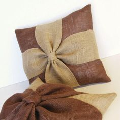 Burlap Pillow Cover add a unique texture to your home decor with this DIY pillow. Get instructions and products on link.