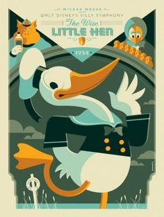 Disney Posters – Modern Vintage Style by Tom Whalen