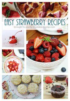 60 Easy Strawberry Recipes