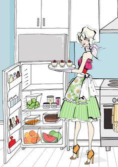 Megan Hess 'Meals in Heels'