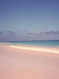 pale pink sand beaches of Harbour Island in the Bahamas