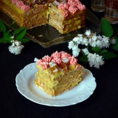 Turkish Delight Cake - No bake easy and tasty cake