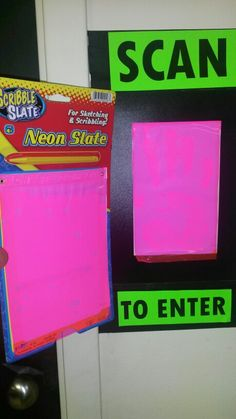 VBS AGENCY D3 - Dollar store slate for hand scan