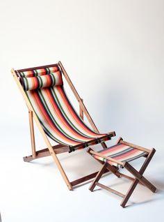 Tulum Garden deck chair with Exclusive Gallant & Jones Fabric
