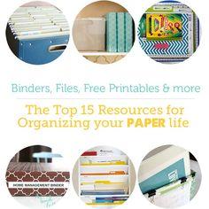 Paper-organization-resources
