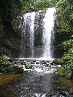 Puerto Rico Waterfall http://www.stopsleepgo.com/vacation-rentals/Puerto-Rico
