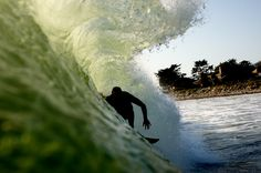 One of the best waves, Rincon.