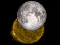 NASA - The Moon and Sun