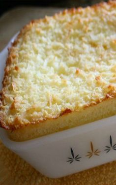The Amazing Crustless Coconut Pie