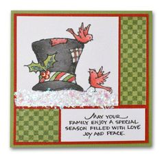 Archivers Holiday Card 62 Holiday Hat