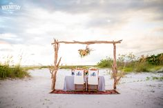 A Boho Beach Wedding