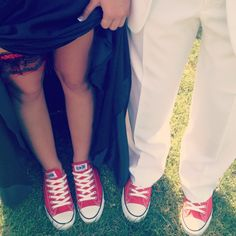 Stay comfy and match your date's shoes this #prom!