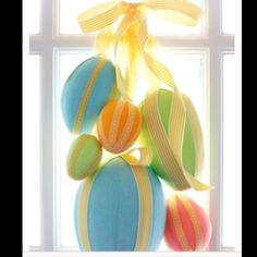 holiday, plastic, ribbons, easter crafts, easter decor, front doors, wreath, easter eggs, decorations