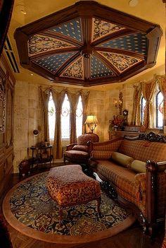 sitting room ▇  #Home #Elegant #Design #Decor  via - Christina Khandan  on IrvineHomeBlog - Irvine, California ༺ ℭƘ ༻